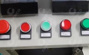 颗粒机电控柜按钮