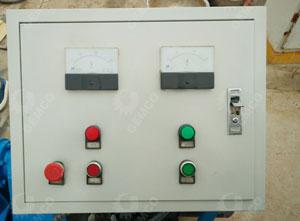 颗粒机电控柜面板