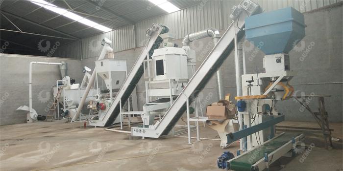 福建时产1吨羊颗粒饲料机组