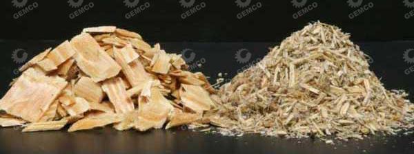 木块可通过粉碎机变成木屑