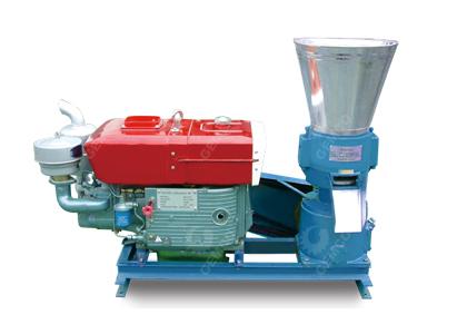 柴油机型秸秆饲料颗粒机
