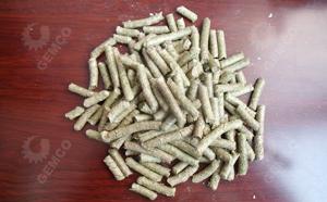 饲料颗粒机所压制的玉米秸秆颗粒